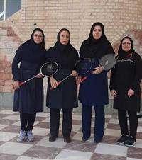 درخشش بانوان برق منطقه ای در مسابقات ورزشی استان