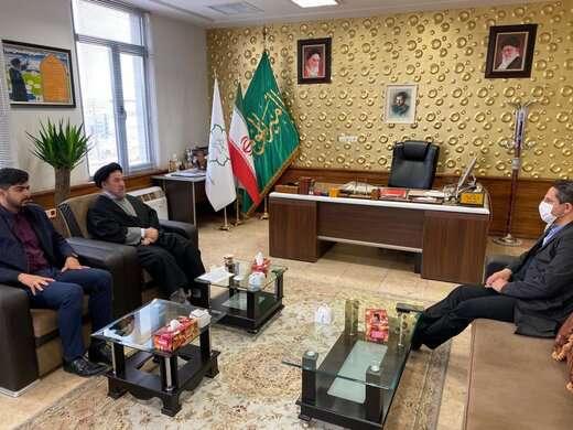 منتخب مردم تبریز در مجلس شورای اسلامی با شهردار تبریز دیدار و از تلاش های وی قدردانی کرد