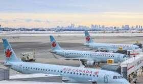 اکثر فرودگاههای بینالمللی کانادا بسته شدند