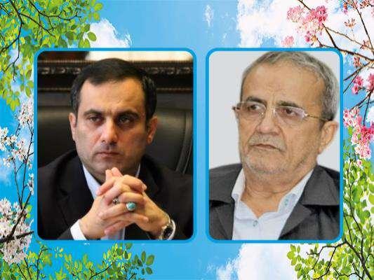 پیام تبریک رییس شورای اسلامی شهر و شهردار ساری به مناسبت فرارسیدن سال نو و عید نوروز