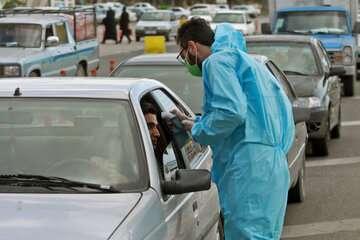 ترافیک سنگین در آزادراه تهران - قم
