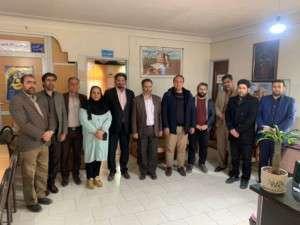 دیدار اعضای شورای اسلامی شهر تفرش با شهردار و پرسنل شهرداری