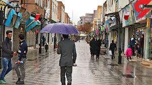 ۳ روز اول سال نو، هوا بارانی است