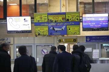 پرواز هواپیماها بر اساس ساعت رسمی کشور انجام میشود