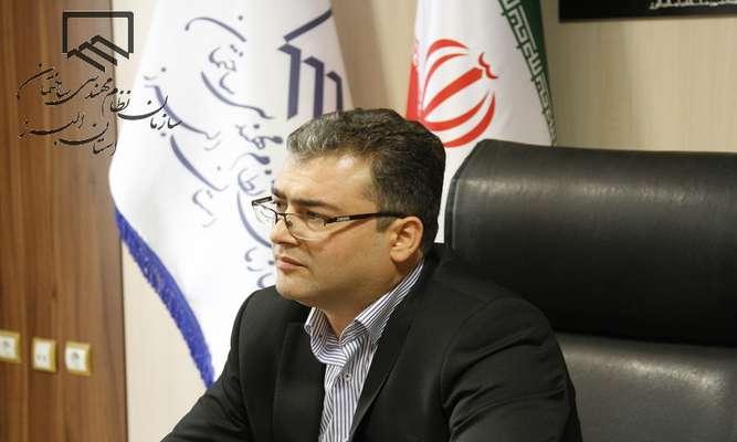 پیام نوروزی ریاست سازمان نظام مهندسی ساختمان استان البرز
