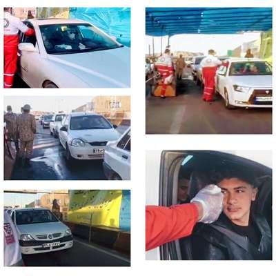 اهدای بیش از 20 هزار لیتر مواد ضد عفونی توسط شهرداری مبارکه و موکب عشاق الحسین (ع) به اکیپ بهداشتی و غربالگری گروه 55…