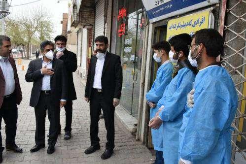 ضد عفونی سطح شهر در ایام نوروز با ۲۰۰ اکیپ / اتراق در بوستان ها ممنوع