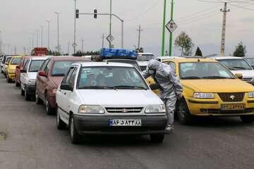 ترافیک سنگین در محورهای تهران  کرج و تهران  لواسان