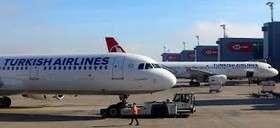 پروازهای بینالمللی ترکیش ایرلاینز  لغو شد