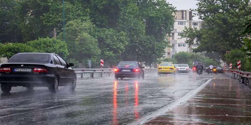 وضعیت آب و هوا در چهارم فروردین
