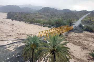 انسداد ۱۳۰ راه روستایی در پی وقوع سیل شب گذشته