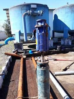 افزایش 12 لیتر برثانیه آب با بهسازی چاه شماره 8 فومن