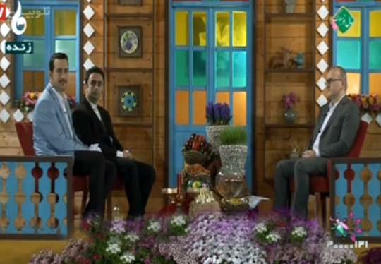حضور مدیرعامل شرکت آب و فاضلاب استان گیلان در ویژه برنامه عیدنوروز سیمای مرکز گیلان