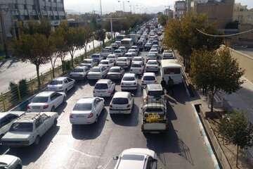 افزایش ۱۷.۳ درصدی تردد در محورهای برون شهری