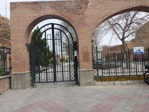 بسته شدن کلیه پارک ها و سرویس بهداشتی های محدوده مرکزی شهر