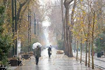 بارش پراکنده باران امروز و فردا در تهران