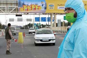 محل اجرای طرح محدویت تردد از عوارضی به کیلومتر ۶۵ اتوبان قم تغییر کرد