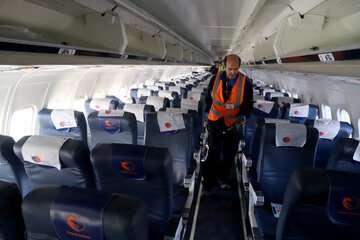 پروازهای داخلی با محدودیت انجام میشود