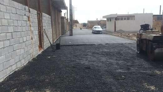 عملیات بهسازی معابر در مناطق کم برخوردار شهرداری منطقه ۶ تبریز