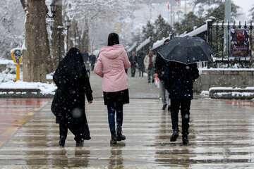 سامانه بارشی تا ۱۲ فروردین میهمان ایران است