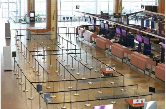 فرودگاههای جهان بعد از کرونا تبدیل به شهر ارواح شدهاند + تصاویر