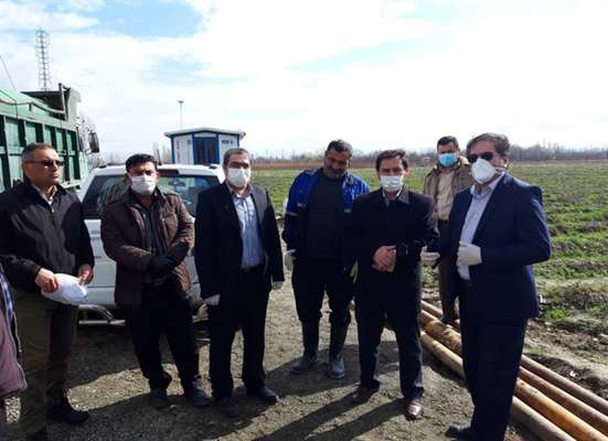 بازدید مدیرعامل شرکت آب و فاضلاب آذربایجان غربی از عملیات حفاری چاه جدید قولنجی