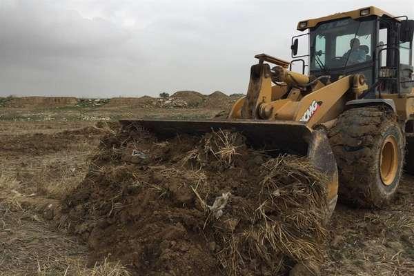 آزادسازی ۱۲ هکتار از اراضی حریم بستر رودخانه الله