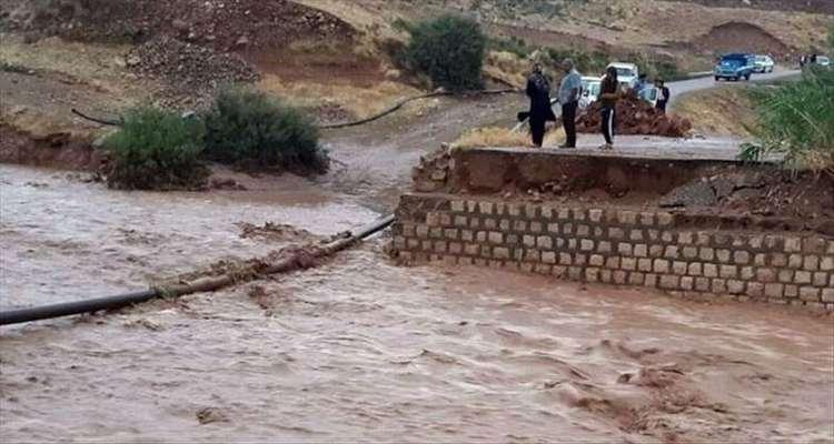 انسداد تنها ۱۷ راه روستایی کشور در مناطق سیل زده