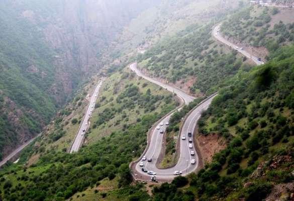 جاده چالوس و تهران-شمال به روال عادی خود بازگشت