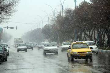 تداوم بارشها تا پایان هفته در کشور
