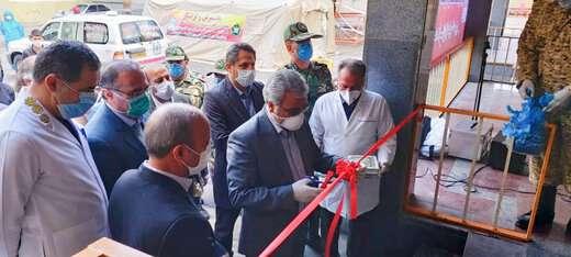 بازدید شهردار از نقاهتگاه امام علی (ع )  ارتش جمهوری اسلامی ایران