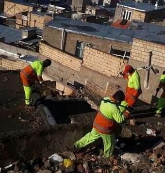 آغاز عملیات تخریب املاک تملک شده در مسیر اتوبان پاسداران