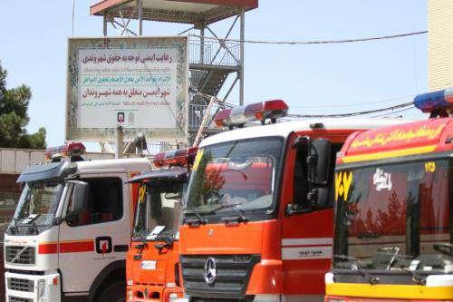 آمادهباش آتشنشانی مشهد در پی تغییرات جوی و بارش باران