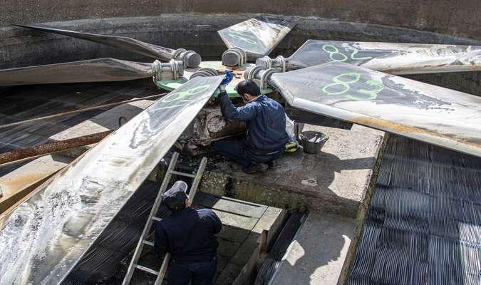 آغاز تعمیرات دوره ای واحد 1 بخار نیروگاه بیستون