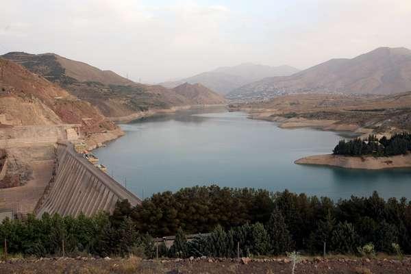 آخرین وضعیت سدهای پنجگانه تهران  در نیمه اول فروردین ماه 99/...