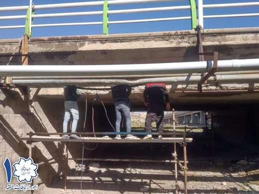 پروژه مقاوم سازی پل ۲۹ بهمن در سربالائی ولی عصر (عج) اجرا می شود