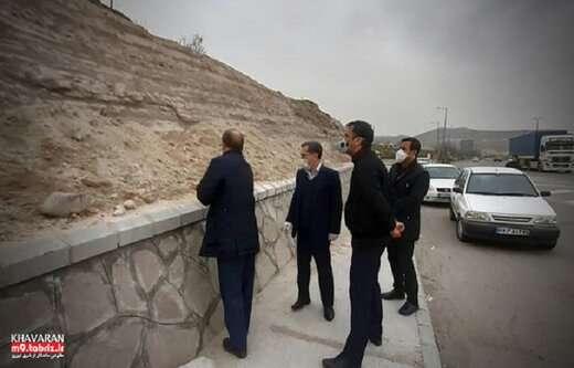 تداوم اجرای پروژه  ورودی جدید تفرجگاه ائل باغی (پارک خانواده) تبریز