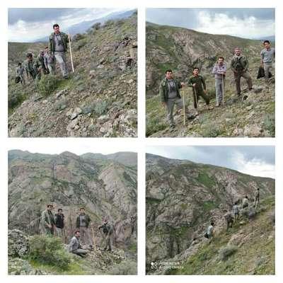 حاصل پایش مامورین یگان حفاظت محیط زیست استان در تعطیلات نوروزی