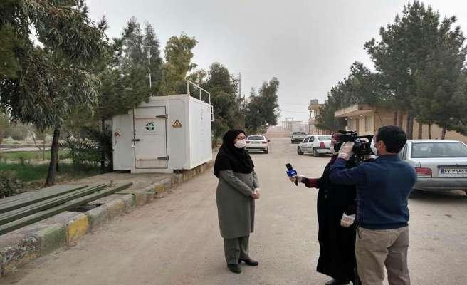 کرمان به دلیل آلودگی هوا با منشا ریزگرد ها تعطیل شد