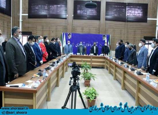 قدردانی شورای اسلامی شهر ساری از مدیران شهرداری جهت اهتمام ویژه در عرصه مقابله با کرونا