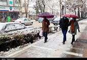 هواشناسی ایران ۹۹/۱/۲۱  تداوم بارش برف و باران در ۲۹ استان تا دوشنبه آینده