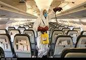 کاهش مسافران برخی خطوط هوایی آمریکا به کمتر از ۱۰ نفر