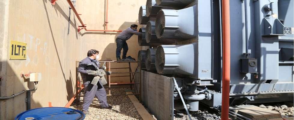 آغاز تعمیرات دوره ای واحد یک نیروگاه حرارتی تبریز