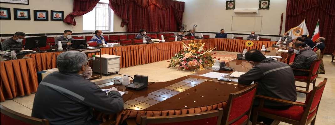 برگزاری اولین جلسه تعمیرات دوره ای واحدهای بخار نیروگاه حرارتی تبریز