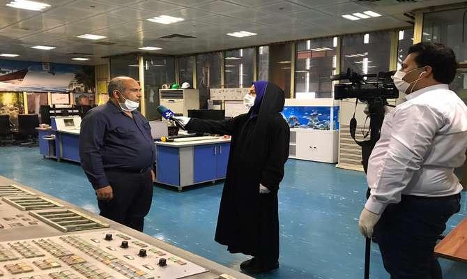 انعکاس فعالیتهای نیروگاه بندرعباس از واحد خبر شبکه استانی خلیج فارس