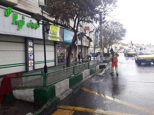 آمادگی شهرداری منطقه ۶ برای مقابله با آبگرفتگی معابر