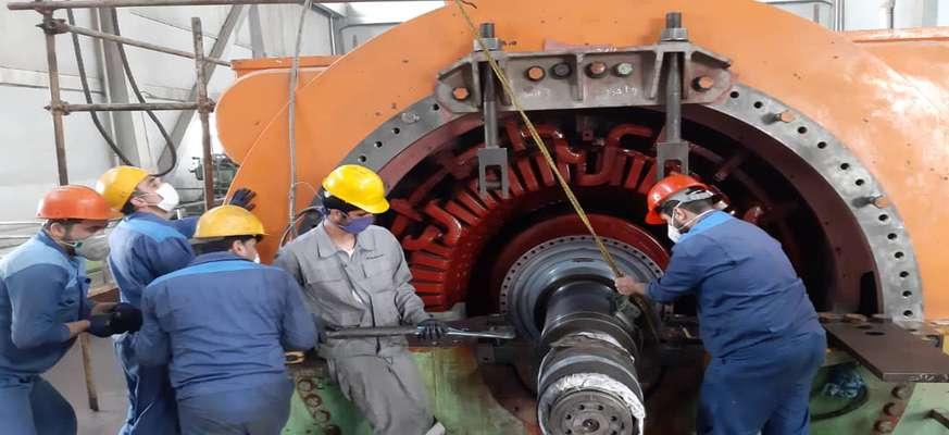 تعمیرات اساسی واحد ۱۲۰ مگاواتی نیروگاه اصفهان در حال انجام است