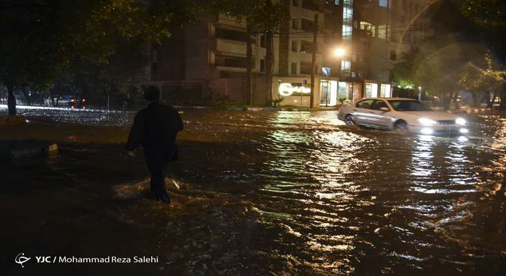 هشدار وقوع سیلاب در ۱۱ استان کشور