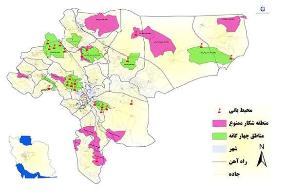 در سال گذشته؛ دستگيري 213  متخلف شكار و صيد در مناطق تحت مديريت حفاظت محيط زيست استان اصفهان