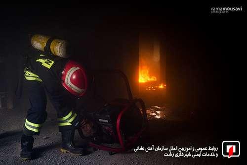 پوشش بالغ بر 4 هزار عملیات آتش نشانی رشت در سال 98/ آتش نشانی رشت